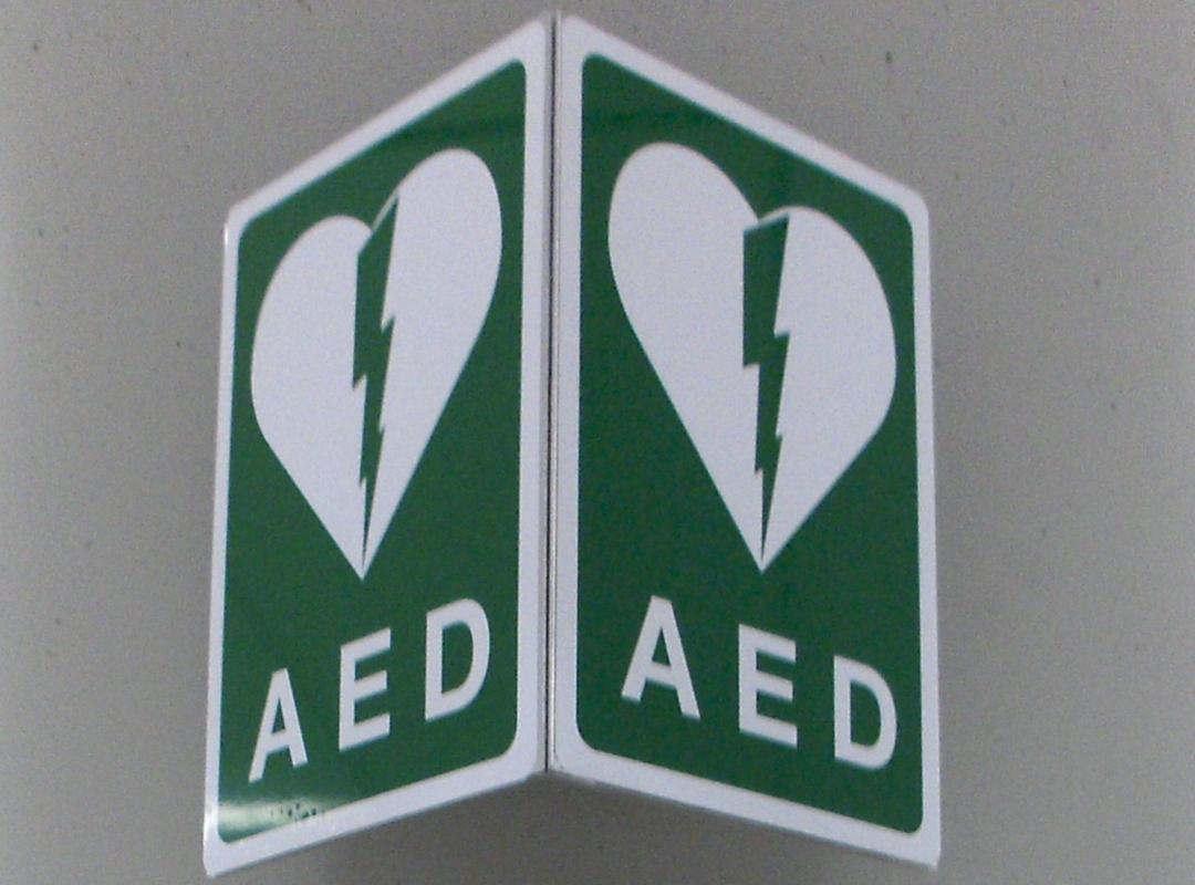 defibrillator AED